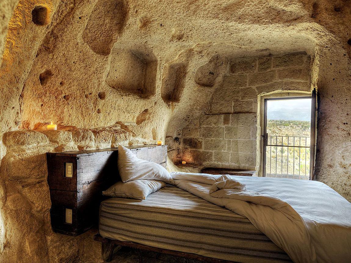 Cave Hotel Sextantio Le Grotte Della Civita Matera Italy