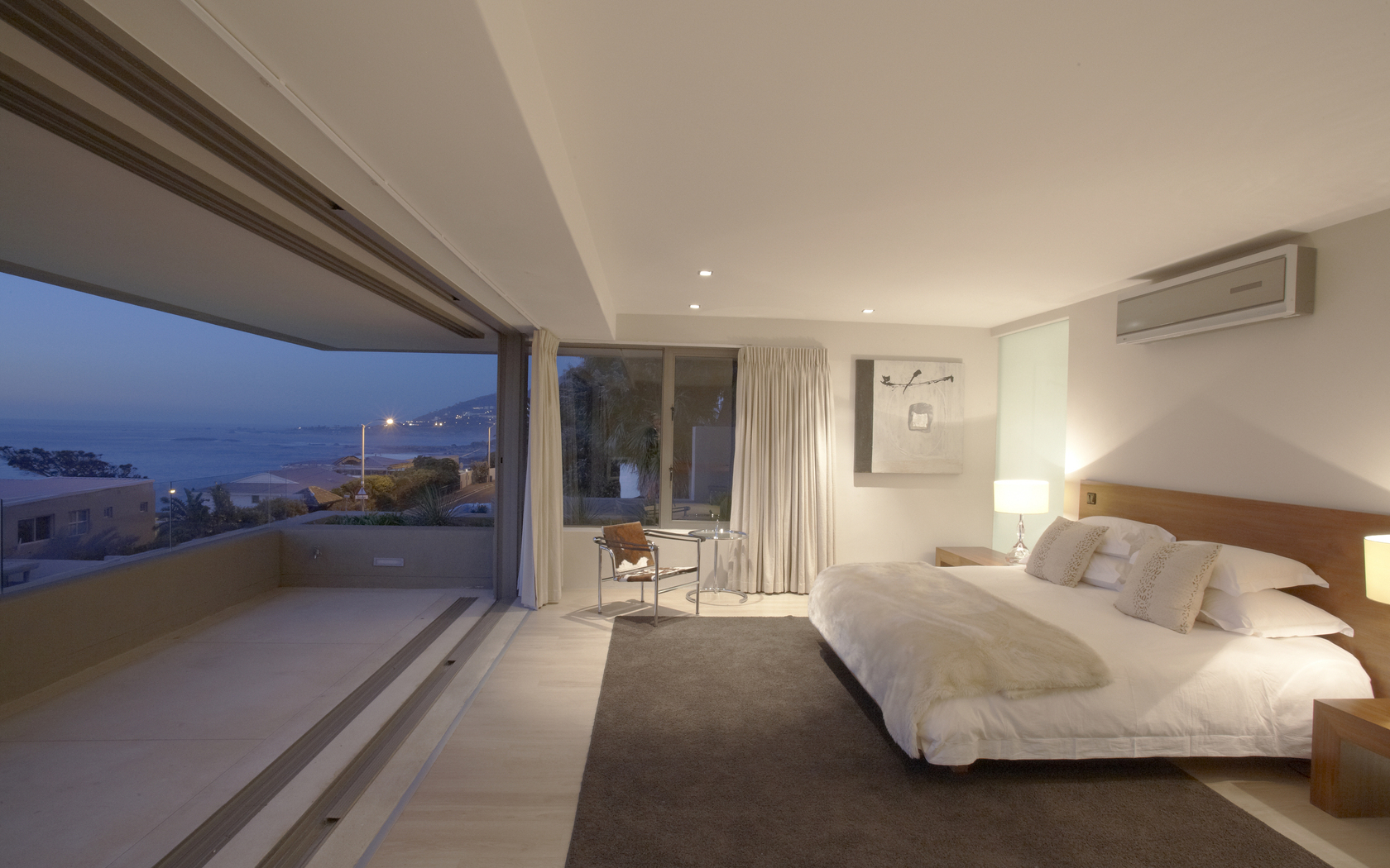 Bedroom with sea view houseidea for Outdoor bedroom