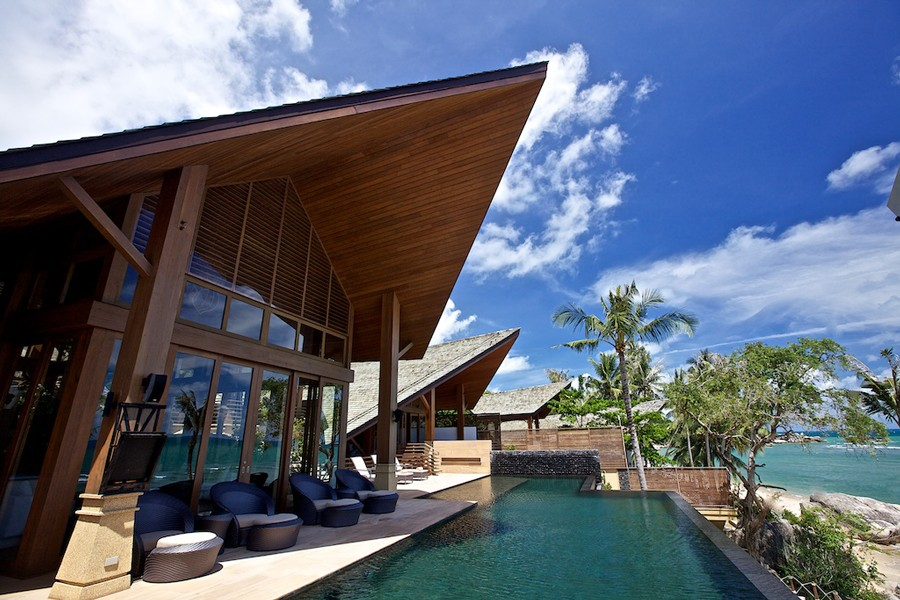 Rental villa baan hinta koh samui thailandia houseidea for Koi pool villa
