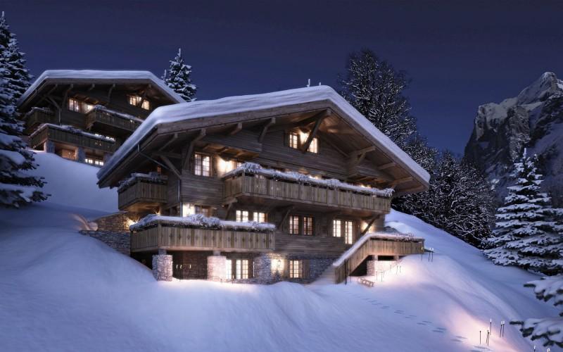 Christmas Village Mountain Accessories