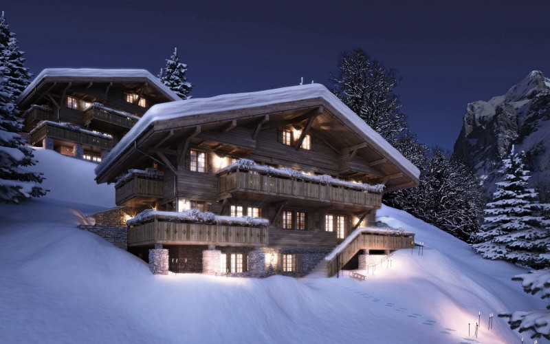 Decordemon Bergwelt Chalet Grindelwald Switzerland
