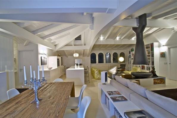 Loft Penthouse by  Fabio Gianoli, Sondrio, Italy 01