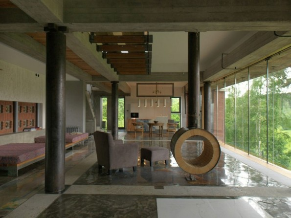 Poshvykinyh Architects house, near Moscow 03